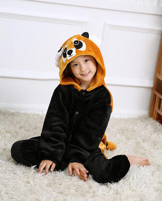 Raccoon-Winter-Girl-Boy-Children-s-Pajamas-Baby-Kids-Pajama-Set-Animal-Cartoon-Sleepwear-Panda-Fox